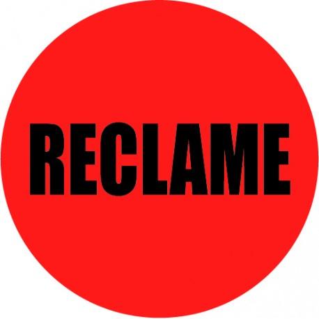 reclame sticker
